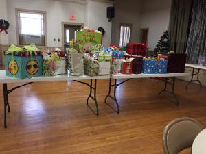 Adopt a Family Gifts Christmas 2017