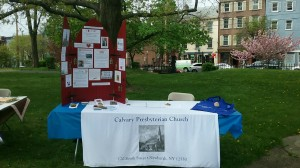 Calvary at the Health Fair by Elizabeth Heath
