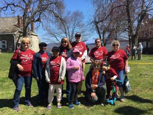 The Calvary Team at the Habitat Walk 4-22-18